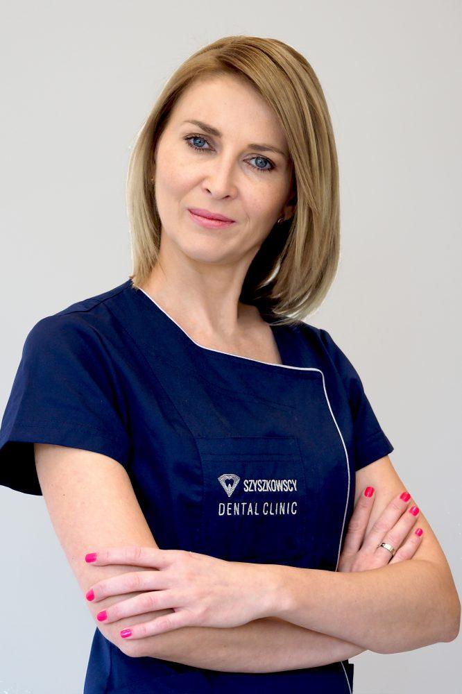 Specjalista protetyki stomatologicznej lek. dent. Anna Szyszkowska